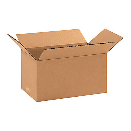 10in(L) x 6in(W) x 5in(D) - Corrugated Shipping Boxes