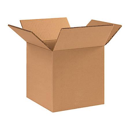 10in(L) x 10in(W) x 10in(D) - Corrugated Heavy-Duty Doublewall Shipping Boxes