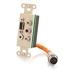 C2G RapidRun Integrated VGA HD15 35mm
