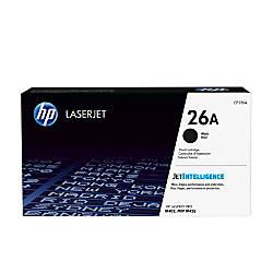 HP 26 Black Toner Cartridge CF226A