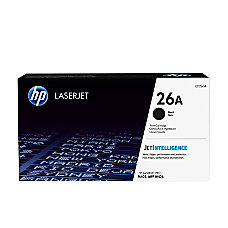 HP 26 Black Toner Cartridge CF226A