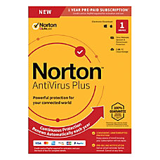 Norton AntiVirus Plus 1 Device 1