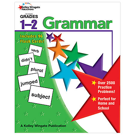 Carson-Dellosa Kelley Wingate Publications Grammar Book — Grades 1-2