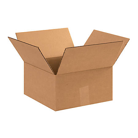"""Office Depot® Brand Corrugated Boxes 11"""" x 11"""" x 6"""", Bundle of 25"""