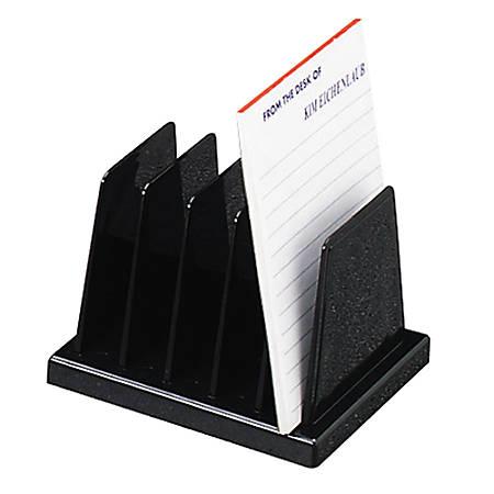 OIC® Compact Desk Sorter, Black