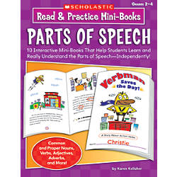 Scholastic Read Practice Mini Books Parts