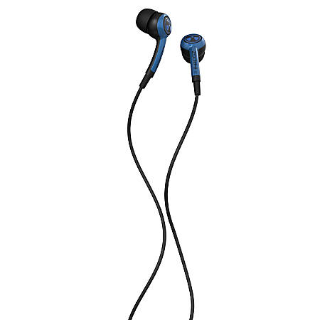 iFrogz™ EarPollution™ Plugz Earbuds With Microphone, Blue