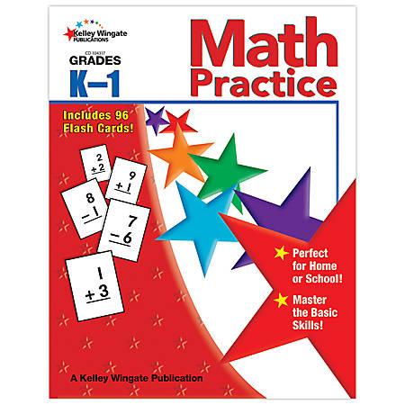 Carson-Dellosa Kelley Wingate Publications Math Practice Books — Grades K - 1
