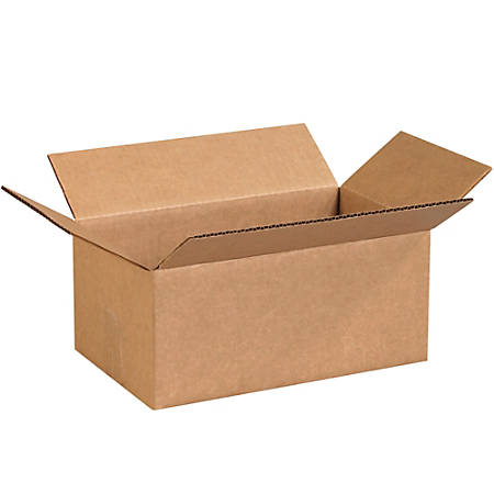 """Office Depot® Brand Corrugated Boxes 12"""" x 7"""" x 5"""", Bundle of 25"""