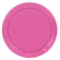 Amscan Round Plastic Platters 16 Bright
