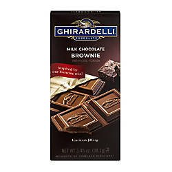 Ghirardelli Chocolate Bars Milk Chocolate Brownie