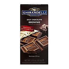 Ghirardelli Chocolate Bars Milk Chocolate Brownie