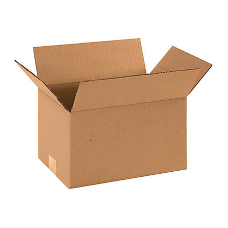12in(L) x 8in(W) x 7in(D) - Corrugated Shipping Boxes