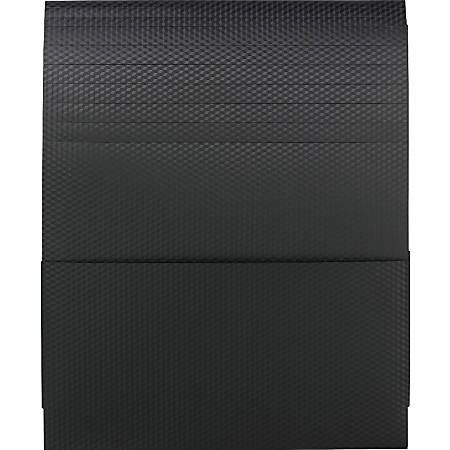 """Smead Organized Up® Poly Stackit® Organizers - Letter - 8 1/2"""" x 11"""" Sheet Size - 150 Sheet Capacity - 3 Pocket(s) - Polypropylene - Black - 2 / Pack"""