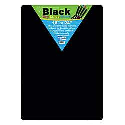 Flipside Black Dry Erase Boards 18