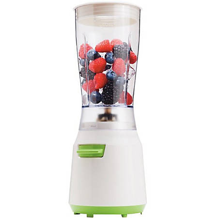 Brentwood Personal Blender, White/Green