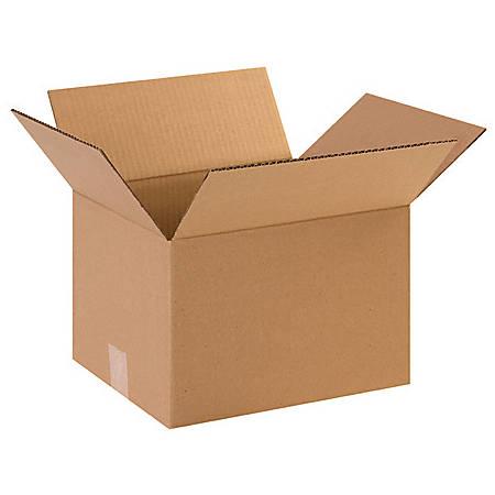 "Office Depot® Brand Heavy-Duty Boxes 12"" x 10"" x 8"", Bundle of 25"