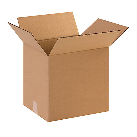 12in(L) x 10in(W) x 12in(D) - Corrugated Shipping Boxes