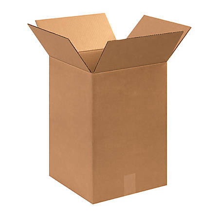 "Office Depot® Brand Corrugated Boxes 12"" x 12"" x 18"", Bundle of 25"