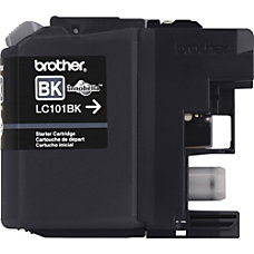 Brother Genuine Innobella LC101BK Black Ink