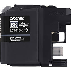 Brother Genuine Innobella LC101BK Black Ink