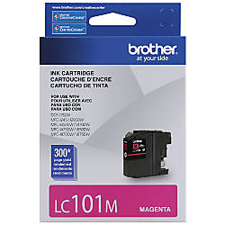 Brother LC101 M Magenta Ink Cartridge