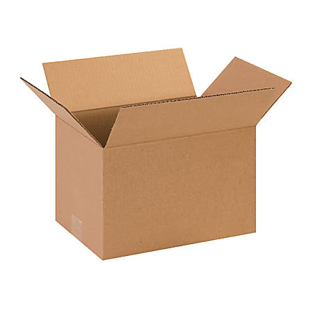 """Office Depot® Brand Corrugated Boxes 13"""" x 9"""" x 7"""", Bundle of 25"""