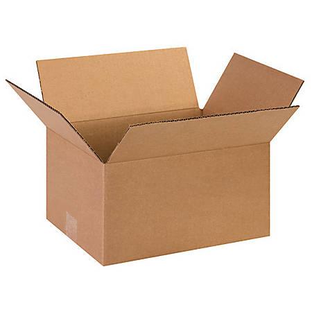13in(L) x 10in(W) x 7in(D) - Corrugated Shipping Boxes