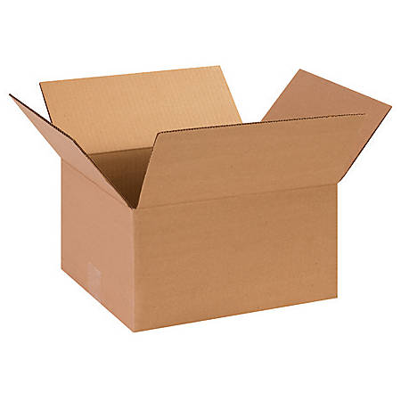 13in(L) x 10in(W) x 9in(D) - Corrugated Shipping Boxes