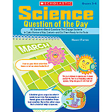 Scholastic Science Question Of The Day