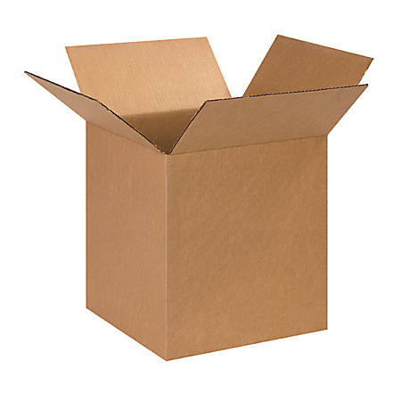 13in(L) x 13in(W) x 15in(D) - Corrugated Shipping Boxes, Bundle of 25