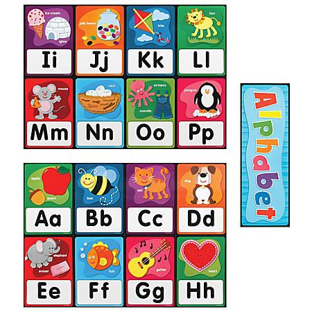 Carson-Dellosa Quick Stick™ Alphabet Bulletin Board