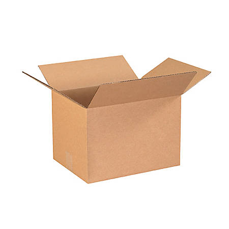 "Office Depot® Brand Corrugated Boxes 13 1/4"" x 10 1/4"" x 9"", Bundle of 25"
