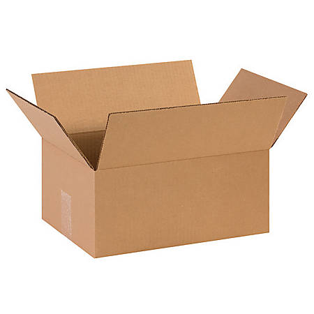 """Office Depot® Brand Corrugated Boxes 14"""" x 9"""" x 6"""", Bundle of 25"""
