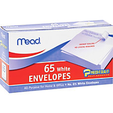 Mead No675 All purpose White Envelopes