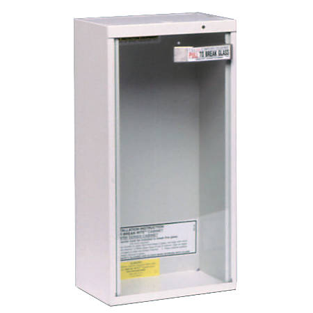 20LB DRY OR 2.5GAL WATERSURFACE MOUNT CABINET