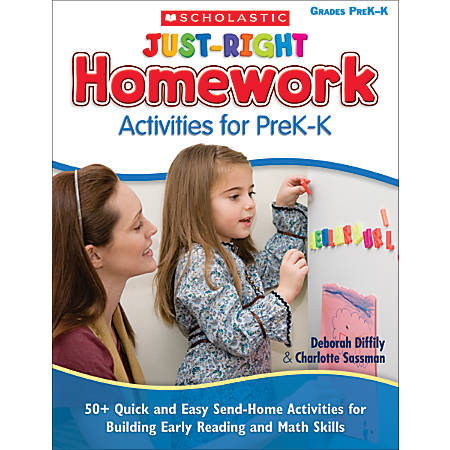 Scholastic Just-Right Homework Activities For PreK–K