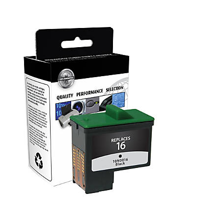 Clover® CTGD5878B (Dell T0529) Remanufactured Black Ink Cartridge