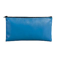 MMF Industries Leatherette Vinyl Zipper Wallets