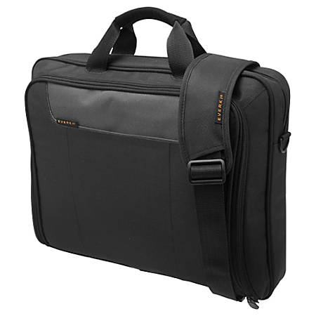 """Everki EKB407NCH Carrying Case (Briefcase) for 16"""" Notebook - Charcoal - Polyester - 12.8"""" Height x 16.1"""" Width x 4.3"""" Depth"""