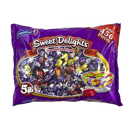 Colombina Fancy Filled Hard Candy Assortment, 5-Lb Bag