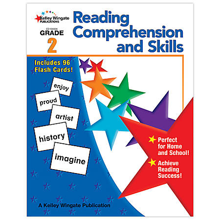 Carson-Dellosa Kelley Wingate Publications Reading Comprehension And Skills Books — Grade 2