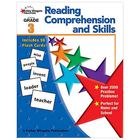 Carson-Dellosa Kelley Wingate Publications Reading Comprehension And Skills Books — Grade 3