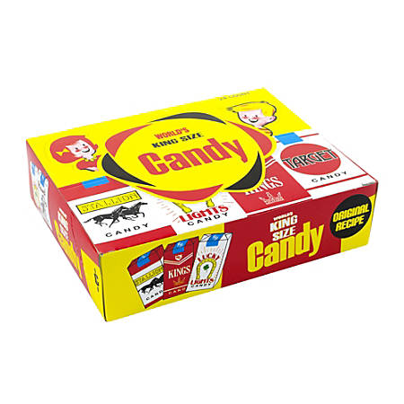 World Confections Candy Cigarettes, Pack Of 24
