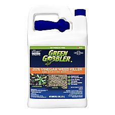 Green Gobbler 20percent Vinegar Weed Killer