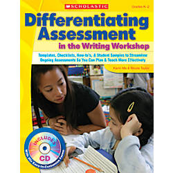 Scholastic Differentiating Assessment In The Writing