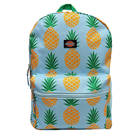 "Dickies Student Backpack With 15"" Laptop Pocket, Pineapple"