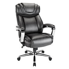 Realspace Axton Big Tall Bonded Leather
