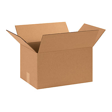 15in(L) x 11in(W) x 8in(D) - Corrugated Shipping Boxes