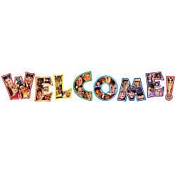 Carson Dellosa Photographic Welcome Bulletin Board